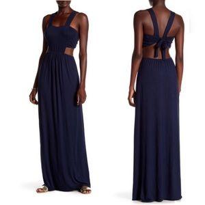 Loveapella Tie Back Maxi Dress Size L